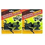 deer repellent for cars - 4 Ultrasonic Car Deer Warning Whistles 2 Packs Auto Safety Alert Device Safety !