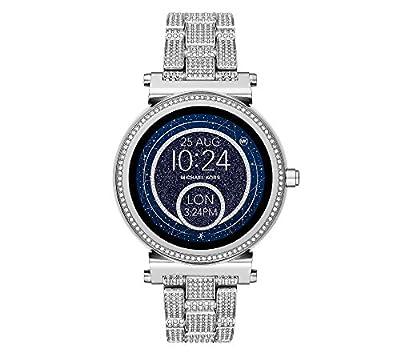 Michael Kors Access Sofie Silvertone Touchscreen Smart Watch from Michael Kors