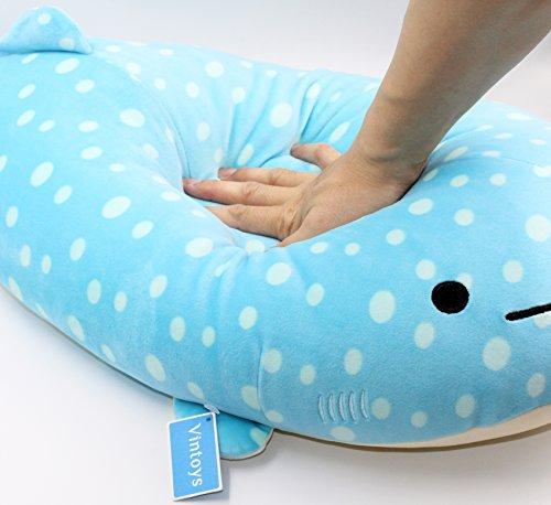 Whale Shark Plush Pillow | 27 Inches | Kawaii Pillows 7
