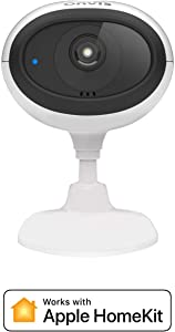 ONVIS Indoor Security Camera Smart Cam, Works with HomeKit,WiFi IP Camera iCloud Recording 1080P HDR 5GHz 2.4GHz, 2 Live Streamings, Night Vision, Two-Way Talk, Local Recording, Home Surveillance