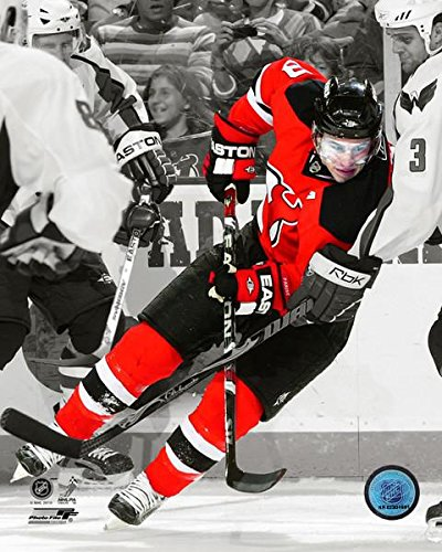 (Zach Parise New Jersey Devils NHL Spotlight Action Photo (Size: 20