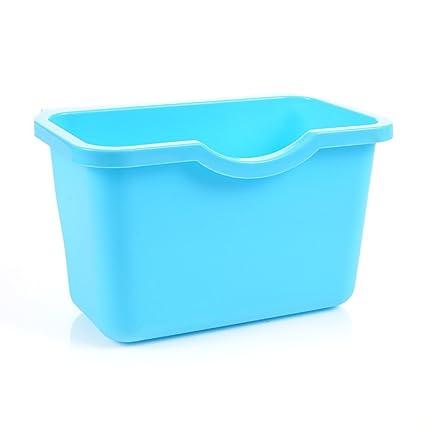 Puerta de gabinete de cocina cesta de plástico reutilizable ...