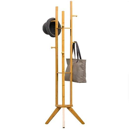 Soporte De Piso De Bambú Simple Rack De Hogar Soporte De ...