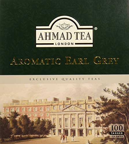 Ahmad Tea - Aromatic Earl Grey (100 Tea Bags)