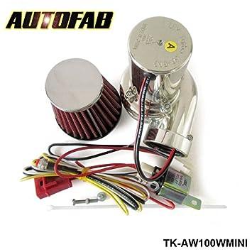pyrty (TM) Turbo Kits Mini eléctrico Turbo Supercharger Kit de filtro de aire de admisión para todos los coche motocicleta tk-aw100wmini: Amazon.es: Coche y ...