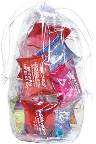 inSPAration Spa and Bath Aromatherapy Model# 151 Sample Gift Pack Bag, - Salts Bath Scents Scented