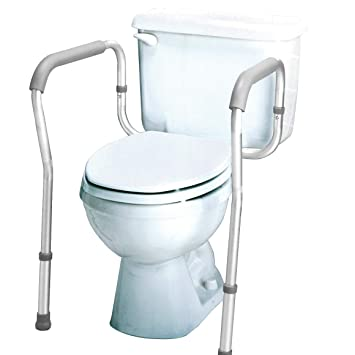 Enjoyable Carex Toilet Safety Frame Toilet Safety Rails And Grab Bars For Seniors Elderly Disable Handicap Easy Install With Adjustable Width Height Home Interior And Landscaping Oversignezvosmurscom