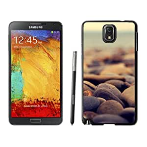 New Beautiful Custom Designed Cover Case For Samsung Galaxy Note 3 N900A N900V N900P N900T With Stone Beach Phone Case