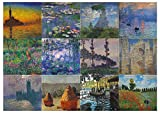 Creanoso Claude Monet Famous Paintings Stickers