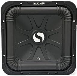 Kicker 11s15l34 15 Inch 1000 Watt 4 Ohm Dual Solo Baric L3 Subwoofer