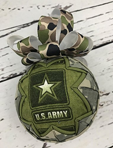 US Army Fabric Ornament