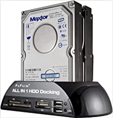 "Why Need It -Directly exchange data between 2 different type HDDs(SATA and IDE), even for different size(3.5"" and 2.5"") of HDD. You can copy or back up your files conveniently. No need buy 2 or more external cases. Saves your money. How Easy ..."