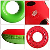 Colorful Fruit Cute Swimming Ring Child Inflatable Pool Float Water Fun Baby Toddler Float,Color in Random