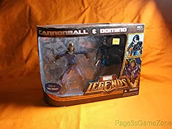 Marvel Legends Exclusive Two-Pack - Cannonball & Domino: Amazon.es ...
