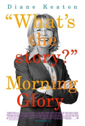 (MORNING GLORY MOVIE POSTER 1 Sided ORIGINAL 27x40 DIANE KEATON)