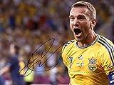 Andriy Shevchenko UKRAINIAN autograph, IP signed photo