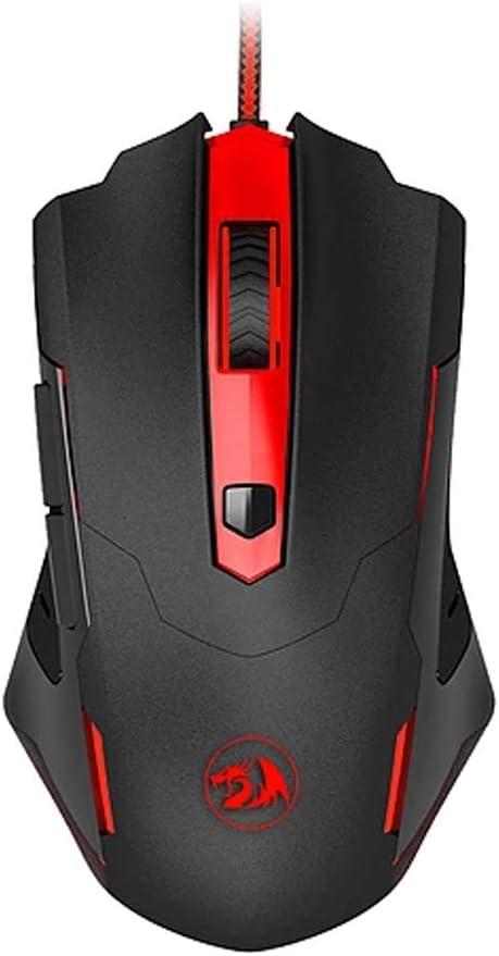 Redragon M705 Gaming Mouse Wired USB LED Backlit Adjustable 7200 DPI Ergonomic Design for Desktop Programmable Mice Gamer