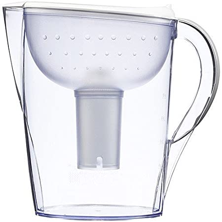 Brita Pacifica Water Filter Pitcher with 1 Replacement Filter, White, 10 Cup COMINHKPR72122