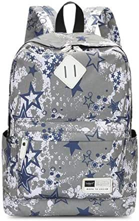 Female Korean Version of the Tide Waterproof Middle School Student Bag Outdoor Leisure Travel Backpack