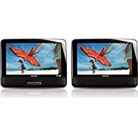 Philips PD9012 9-inch Dual Screen Portable DVD Player (Certified Refurbished)
