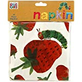 Talking Tables The Very Hungry Caterpillar Disposable Napkins (20 Pack), 13 Multicolor