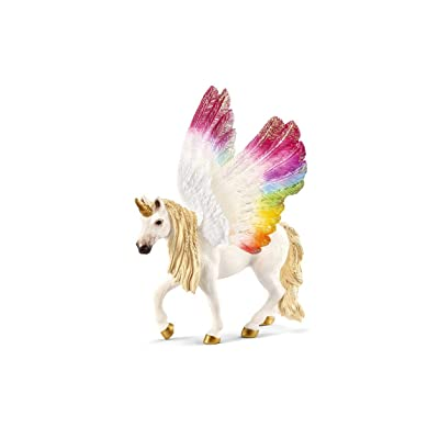 SCHLEICH bayala Winged Rainbow Unicorn Imaginative Figurine for Kids Ages 5-12: Toys & Games
