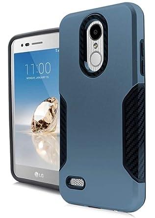 Amazon com: Carbon Slim Hybrid Cover for {Verizon Wireless