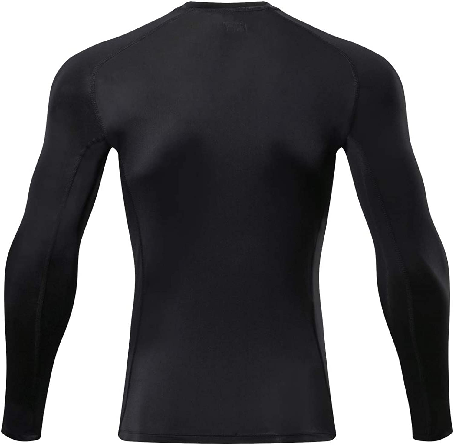 Outto Mens Long Sleeve T-Shirt Cool Dry Compression Base Layer for Sports
