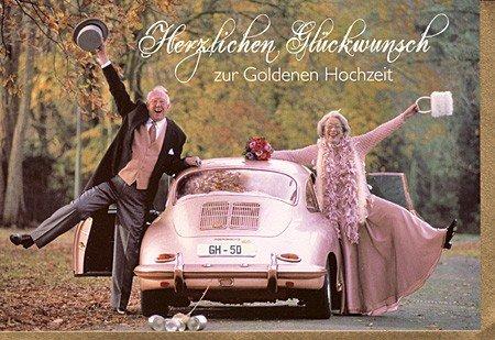 Witzige Glückwunschkarte Zur Goldenen Hochzeit Amazonde
