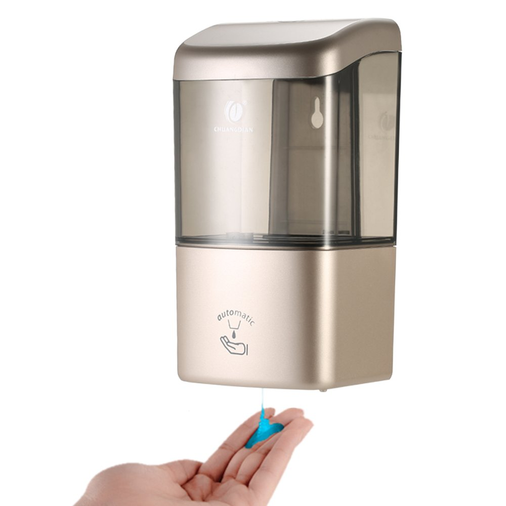 Decdeal CHUANGDIAN 600ml Single Bottle Automatic Soap Dispenser