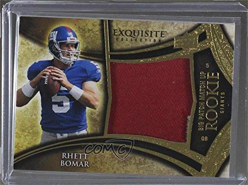Stephen McGee; Rhett Bomar #16/50 (Football Card) 2009 Upper Deck Exquisite Collection - Big Patch Match Up Rookies #RM-BM