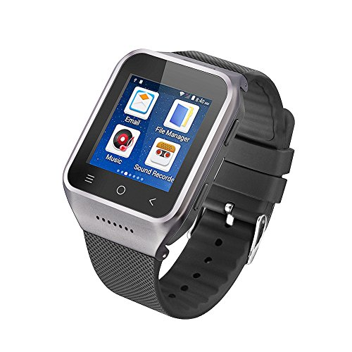 Bluetooth Smart Watch with Mic ans WIFI Camera Positioning GPS Navigation Smart 3G Phone Watch Plug-in Cards Calls for Android 4.4 ZGPAX S8