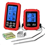 Best Wireless Meat Thermometers - Wireless Meat Thermometer YISSVIC BBQ Thermometer with Dual Review