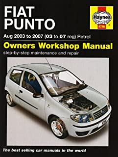 fiat punto petrol service and repair manual oct 1999 to july 2003 rh amazon co uk Fiat Punto 1998 Fiat Punto 2002