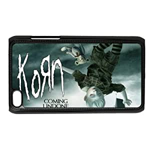 CTSLR Nu-Metal Band Korn Hard Case Cover Skin for iPod Touch 4 4G 4th Generation- 1 Pack - Black/White - 6- Perfect Gift for Christmas