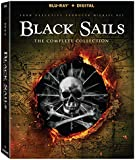 Black Sails S1 - S4 Collection [Blu-ray + Digital]
