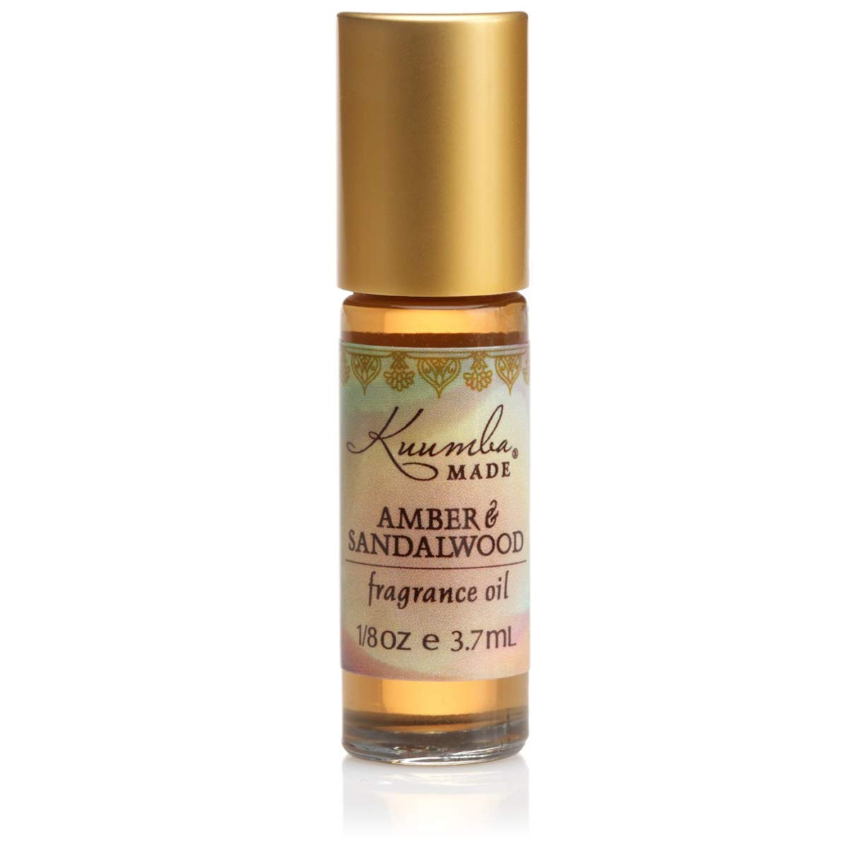 Kuumba Made Amber & Sandalwood Fragrance Oil Roll-On .125 Oz / 3.7 ml (1-Unit)