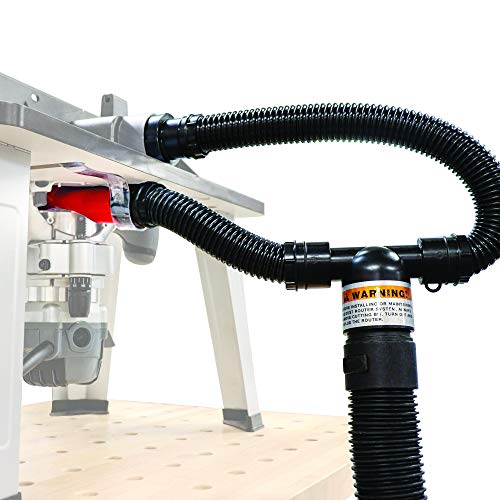 Milescraft 1501 Dust Router – Complete Dust Collection System for Router Tables