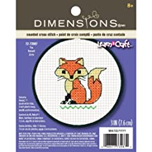 Dimensions  Crafts Kids Learn a Craft Counted Cross Stitch, Fox