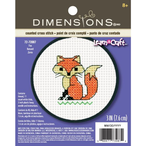 Dimensions 72-73987 Crafts Kids Learn a Craft Counted Cross