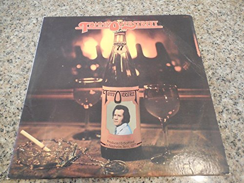 Tommy OverStreet Country album 1977 Dot records Rare