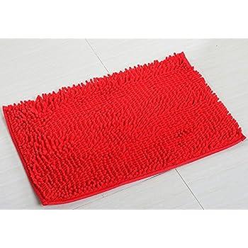 Amazon Com Yjbear Chenille Rectangle Anti Slip Microfiber