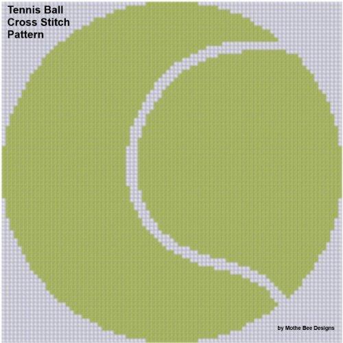 Tennis Ball Cross Stitch - Stitch Cross Ball