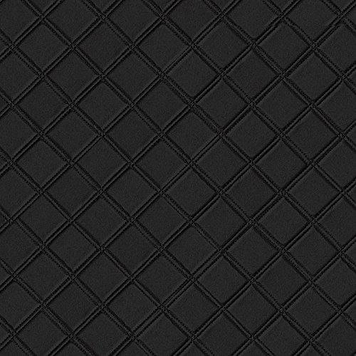 WallFace 15030 ROMBO Wall panel leather square 3D interior decor luxury wallcovering self-adhesive black   2,60 sqm by Wallface (Image #5)