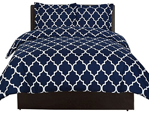 comfortable breathable soft u0026 extremely durable wrinkle fade u0026 stain resistant hotel quality by utopia bedding queennavy