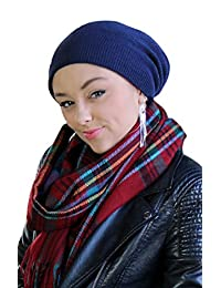 Boulder Merino Wool Slouchy Beanie Cap For Chemo & Cancer Patients