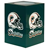 The Northwest Company NFL Miami Dolphins Square Flameless Candle