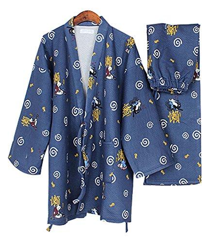 Cute Cat Cotton Air Layer Pajamas Suit Tracksuit Bathrobe...