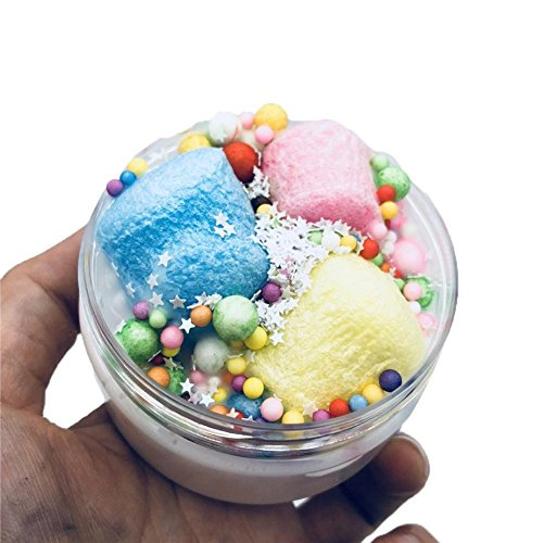 Gloous Fruit Coconut Mud Mixing Cloud Slime Squishy Putty Sc