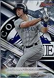 2016 Bowman's Best Top Prospects #TP-2 Brendan Rodgers Colorado Rockies Baseball Card in Protective Screwdown Display Case